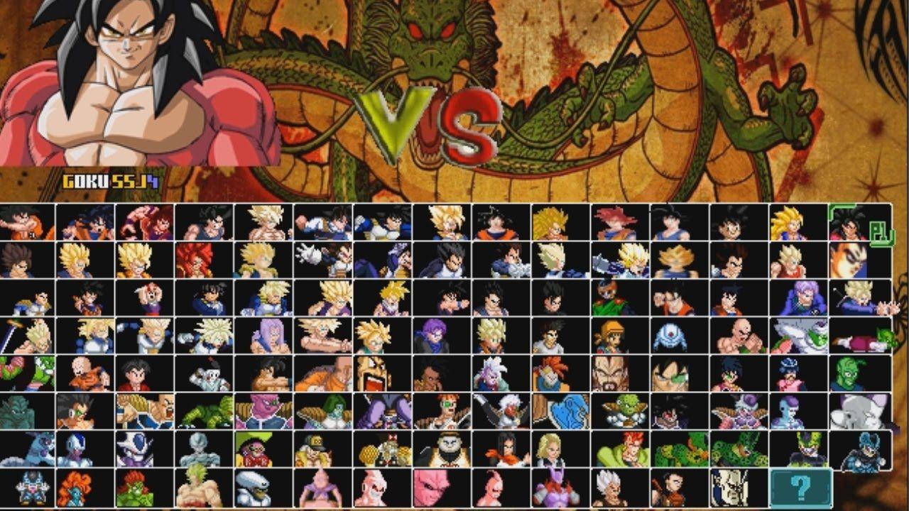Dragonball Z Mugen 2015 Dbz Kai Updated Characters Gt Goku