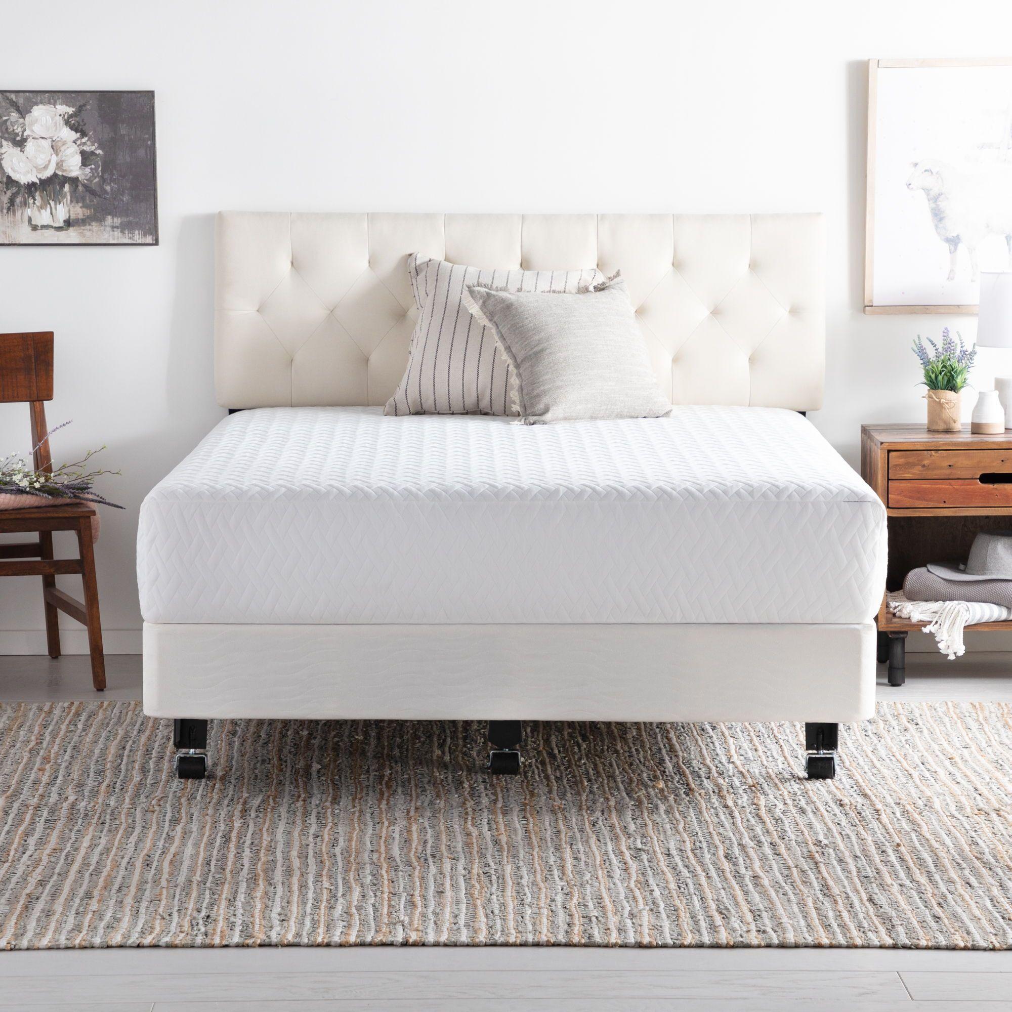 Best Brookside Universal Adjustable Metal Bed Frame With Center 400 x 300