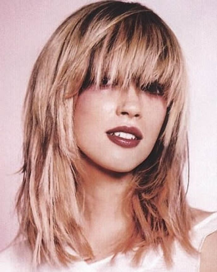 Short Layers Awesome Long Bob Hairstyles 2017 With Bangs