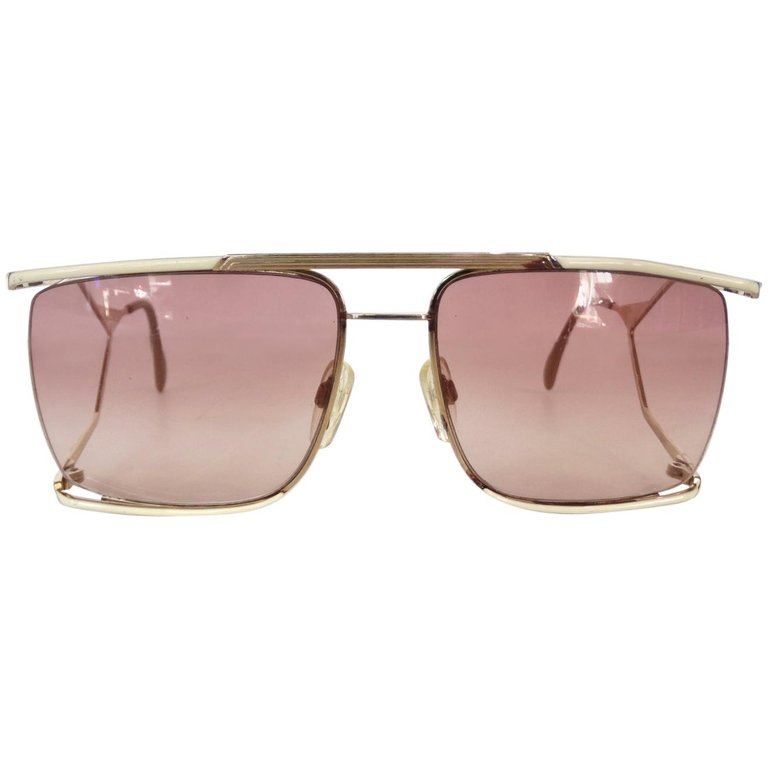 129d68c4b 1980s Neostyle Nautic Oversized Sunglasses in 2019   Products ...