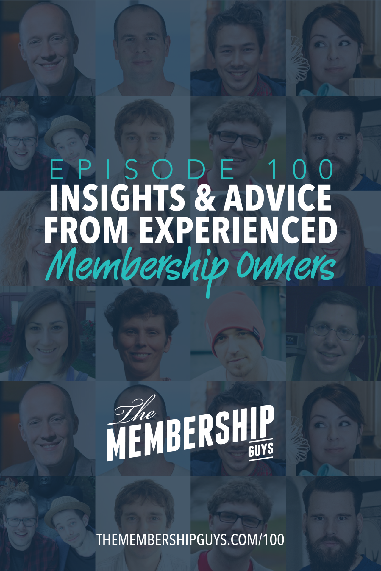 We made it! 100 episodes!    To celebrate our centennial, I invited 16 fellow membership site owners to share insights, experience and advice from their journey so far.    I asked my guests to answer 3 questions:    - What's the one piece of advice you'd give anyone starting a new membership?  - What impact has having a membership site had on your life or your business?  - What would you do differently if you were starting your own site again from scratch?    The answers they shared are…