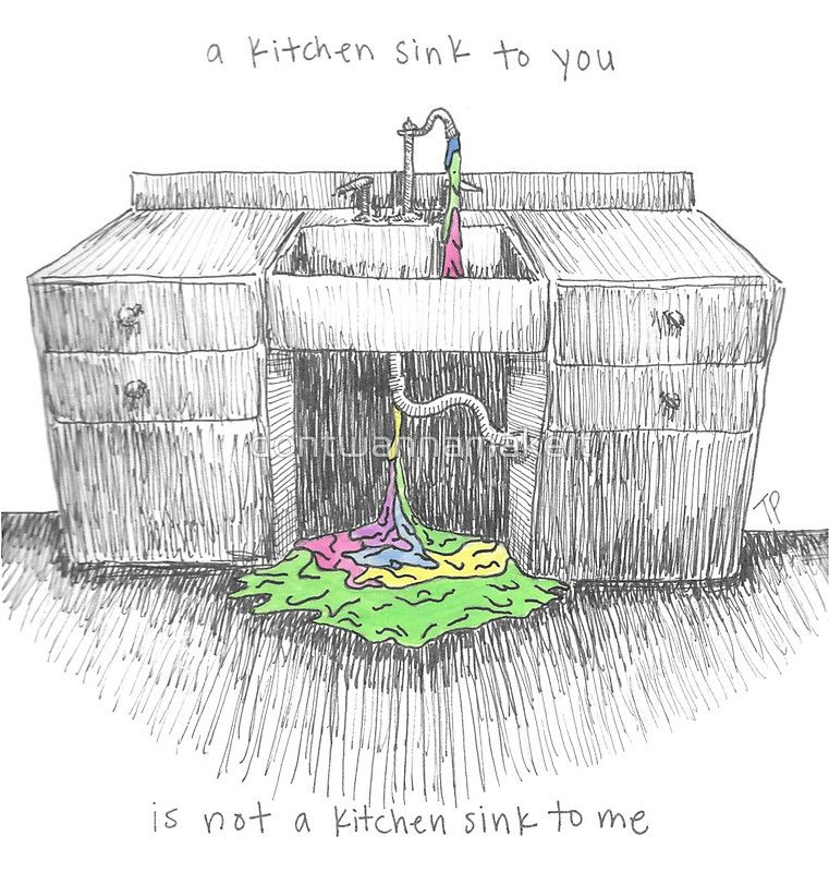 Kitchen Sink by twenty one pilots Illustration
