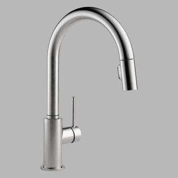 Delta 9159 Single Handle Pull Down Kitchen Faucet Touch Kitchen