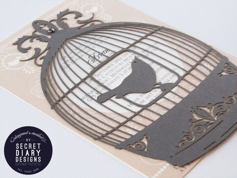 Wedding Invitations Birdcage: Baby Shower Invitation!