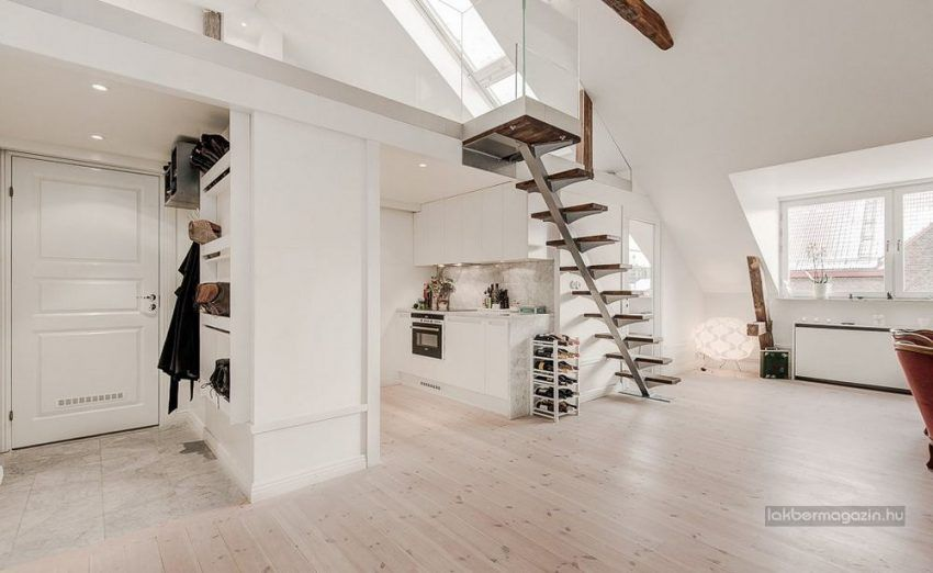Tetőtéri lakások: 76nm, nyitottság, fény, galéria, terasz ...