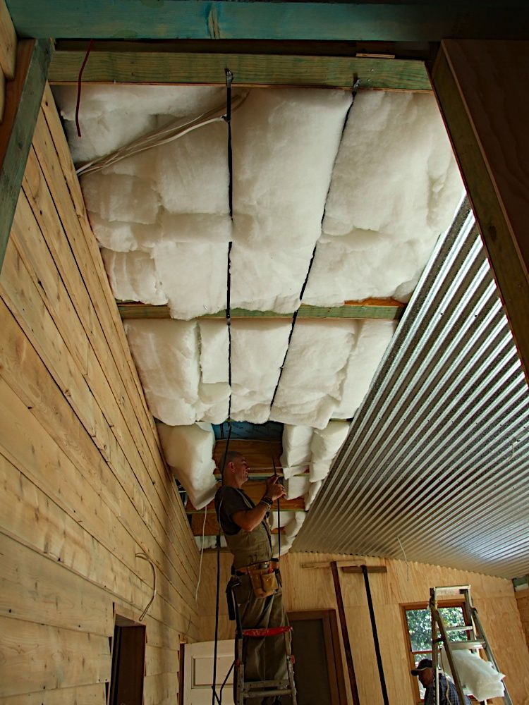 The 'outsidein' ceiling Basement ceiling, Basement