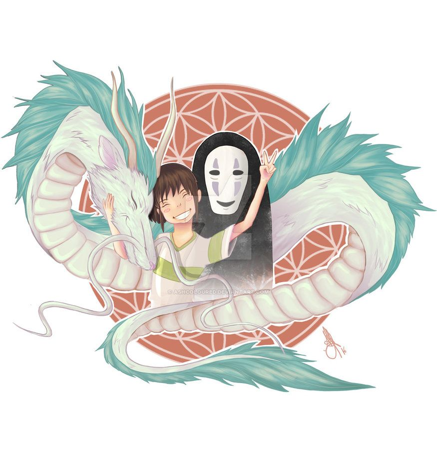 403 Forbidden Spirited Away Haku Studio Ghibli Art Spirited Away