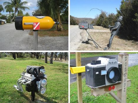 special delivery 54 amazing unusual mailbox designs weburbanist - Mailbox Design Ideas