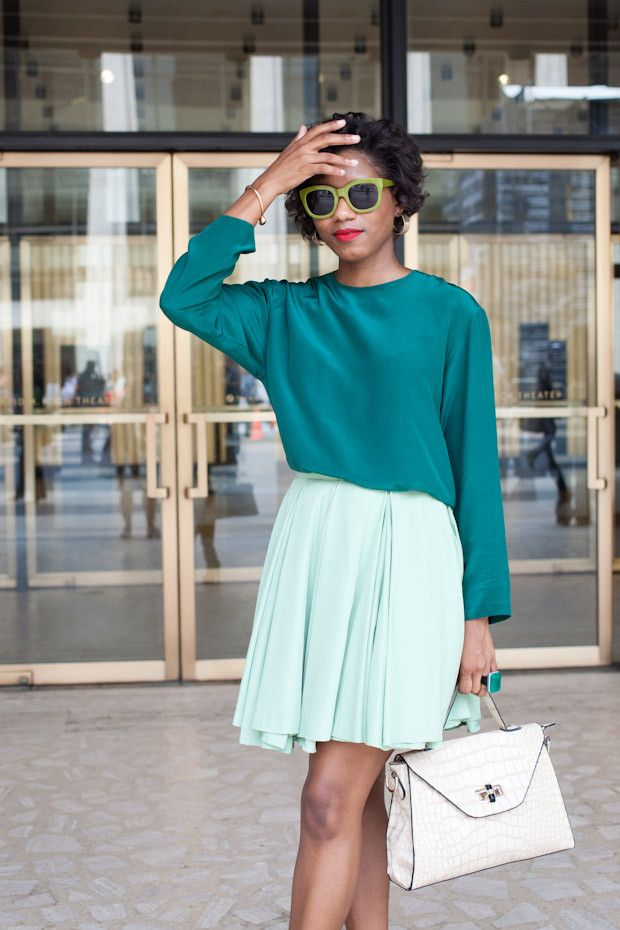 The 4 Colors That Look Good on Literally Everyone via @WhoWhatWear