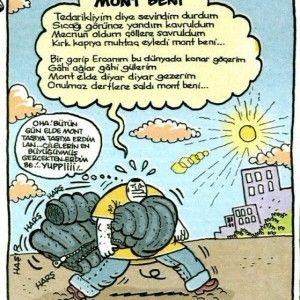 Mont Baba - umut sarıkaya karikatürleri