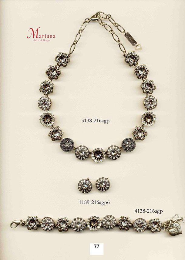 Mariana Jewelry  http://www.michalsimports.com/catalogs/mariana_catalog-3.html