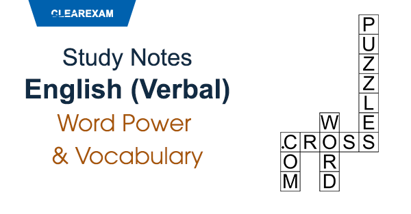 Verbal Ability Study Notes Online Clear Law Entrance Study
