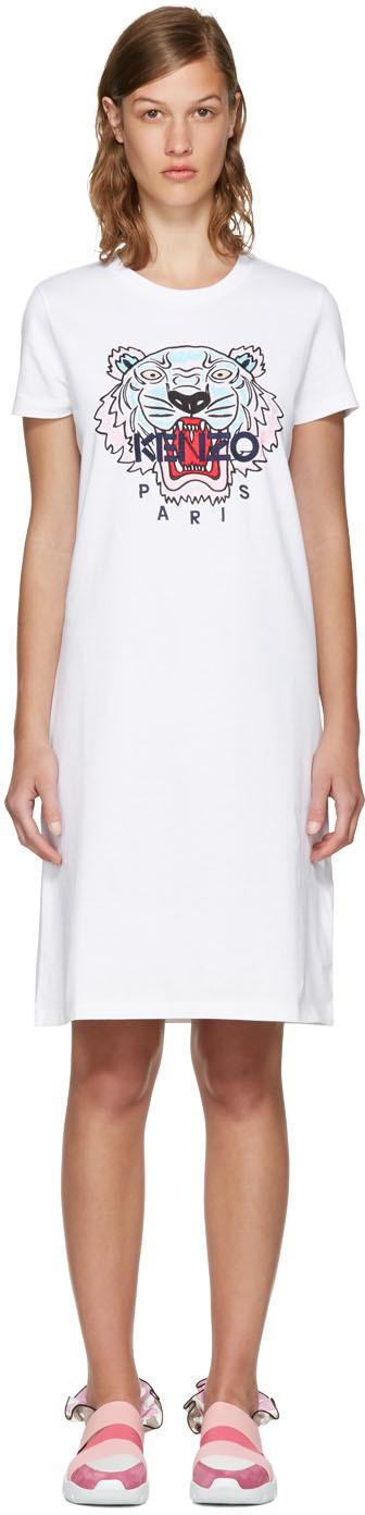 Kenzo white dress