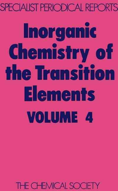 Inorganic Chemistry of the Transition Elements #summerschool