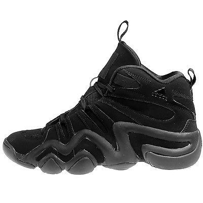 newest 2c2b3 c2100 Adidas Crazy 8 Mens AQ8464 Core Black Kobe Basketball Shoes Sneakers Size  8.5