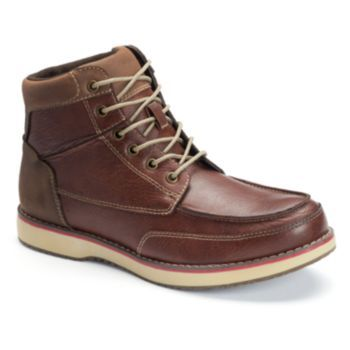 sonoma goods for life™ men's casual laceup ankle boots in