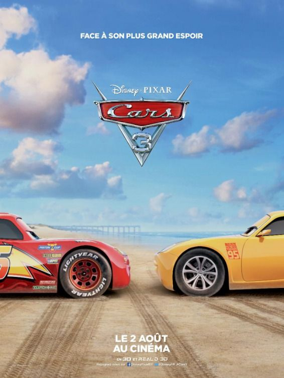 Cars 3 Movie Poster Pixar Cars Disney Pixar Cars Disney Cars 3