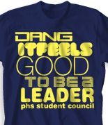 Student Council T Shirt Design Dang Desn 289d2 Asb