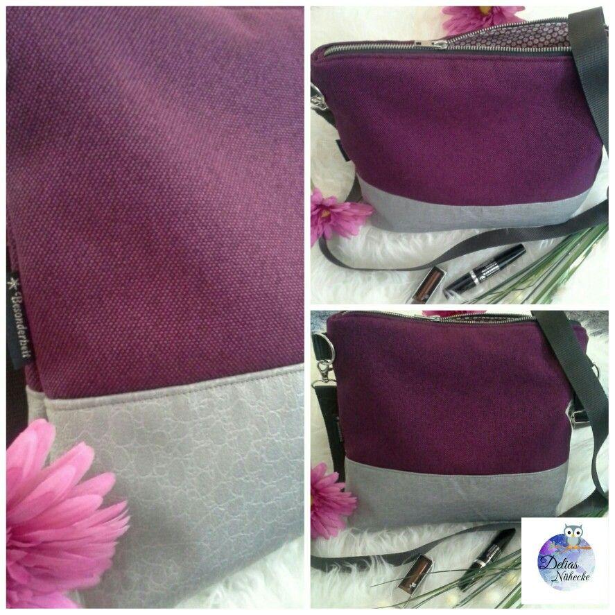 Crossover #Handtasche #zuckerundzimt #Milow #handmade #Freebook ...