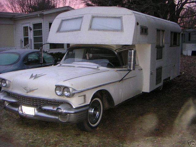 1958 Cadillac Eureka Camper by Hartog, via Flickr