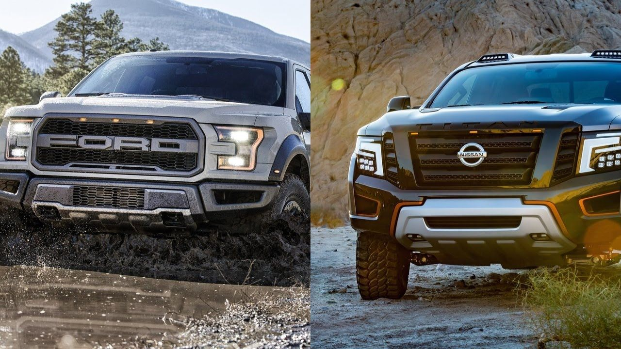 2017 ford f 150 raptor vs 2016 nissan titan warrior concept. Black Bedroom Furniture Sets. Home Design Ideas