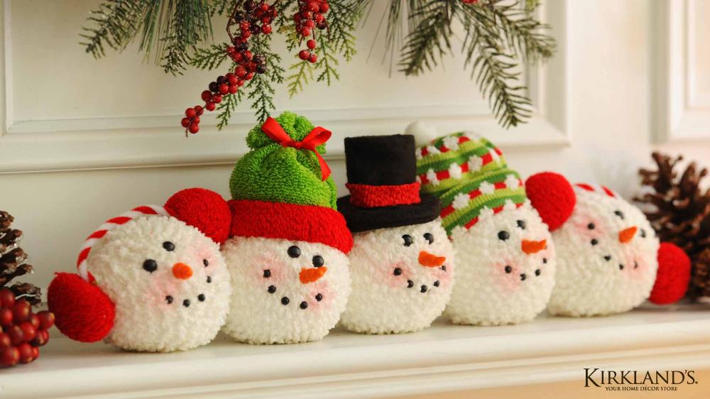 22 Fondos 4khd Muñecos de Nieve Navidad