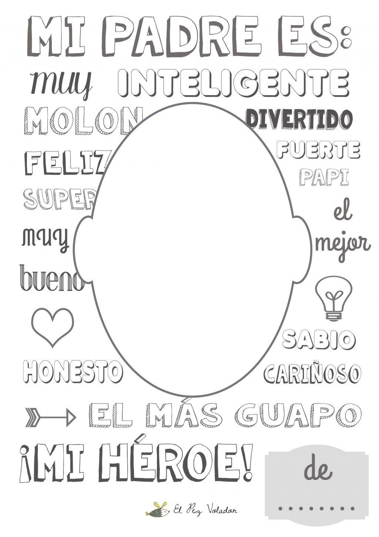Imprimible Día del Padre   escuela   Pinterest   Día de los padres ...