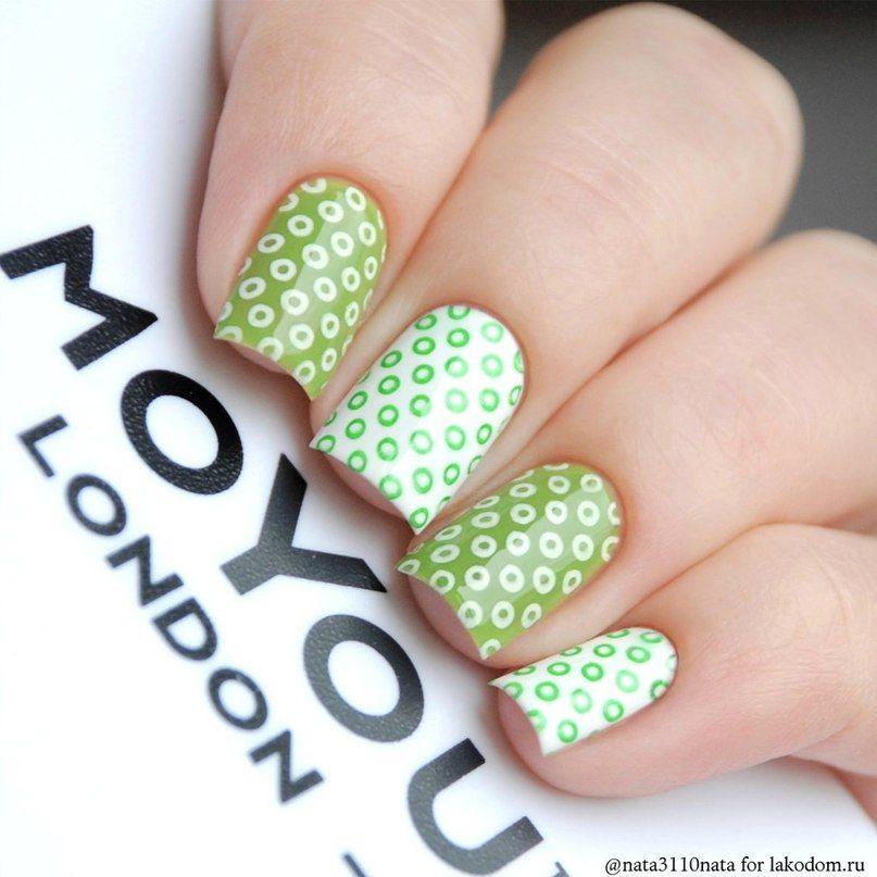 Свотчи MoYou London   Manicures   Pinterest   Uñas 2017, Decoración ...