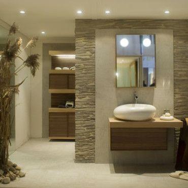 univers déco salle de bain en pierre | Salle de bain en pierre ...