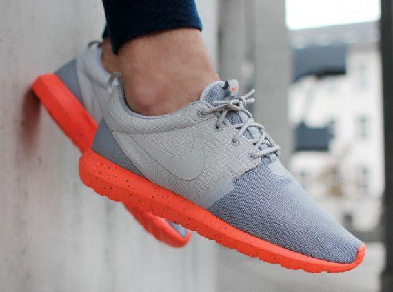 quality design ab458 03802 Nike Roshe Run NM - Grey - Orange - SneakerNews.com