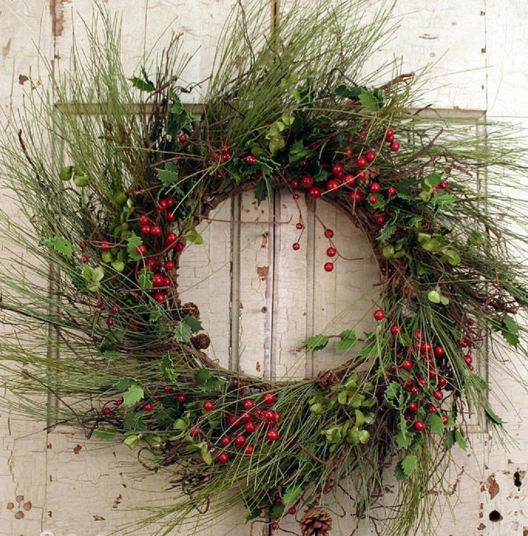 Wreaths For Door - Winter Solstice Door Wreath, $74.99 (http://www.wreathsfordoor.com/winter-solstice-door-wreath/)