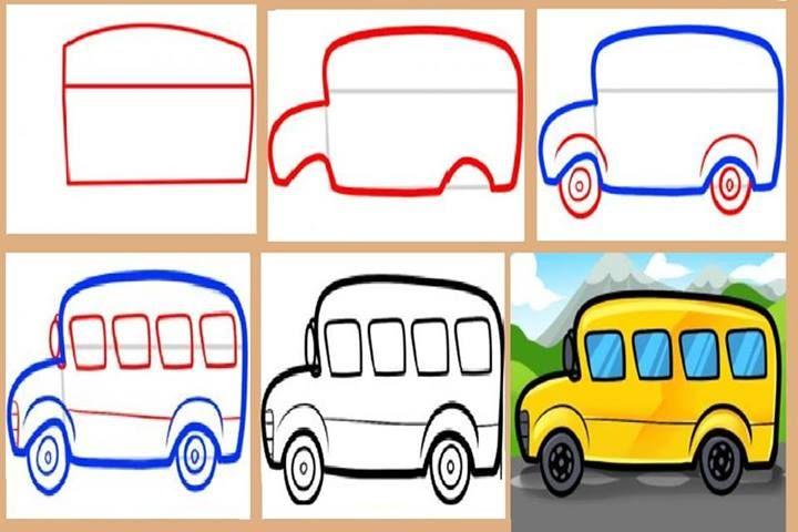 علمي طفلك الرسم بخطوات سهلة منتدى رحمة مهداة التعليمي Kids Learning Learning Colors Artwork