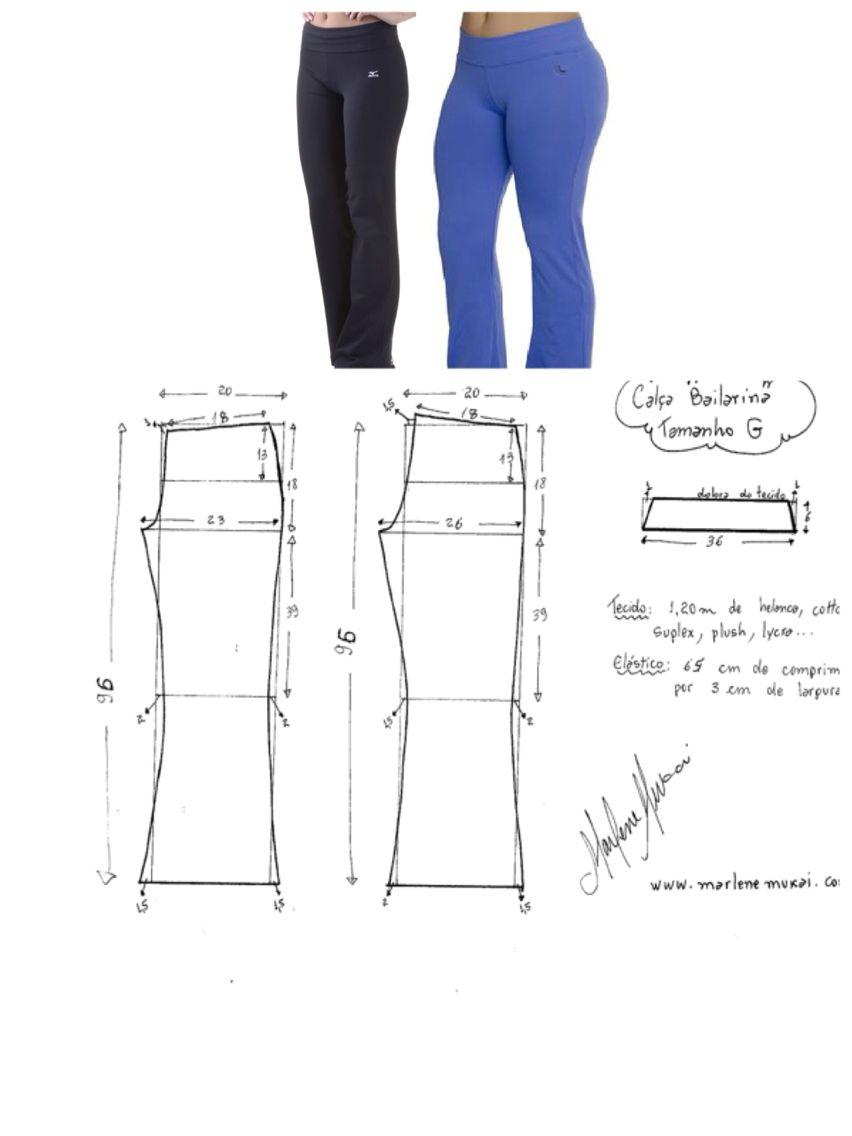 Calças social   Patrones modas edicas   Sewing pants, Sewing y Pants ...