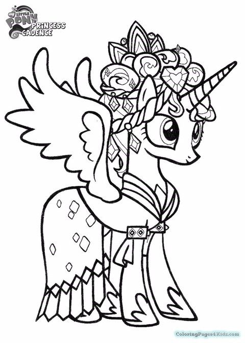 my little pony 신비의 상징 유니콘💜 마이리틀포니 색칠공부  네이버 블로그  색칠책