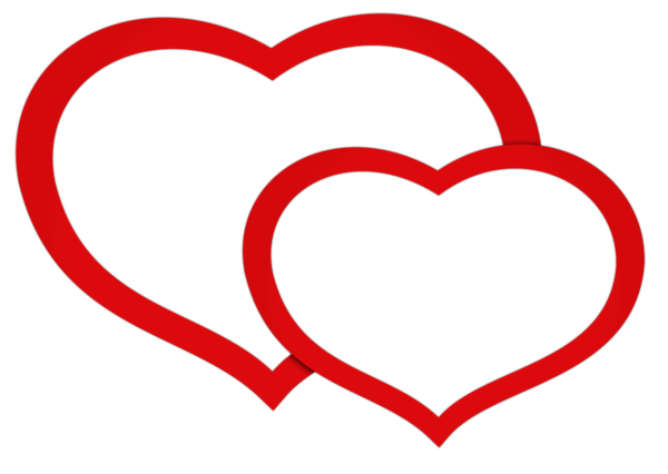 Transparent Red Double Hearts Png Clipart Picture Clip Art Freebies Clip Art Heart Clipart Free