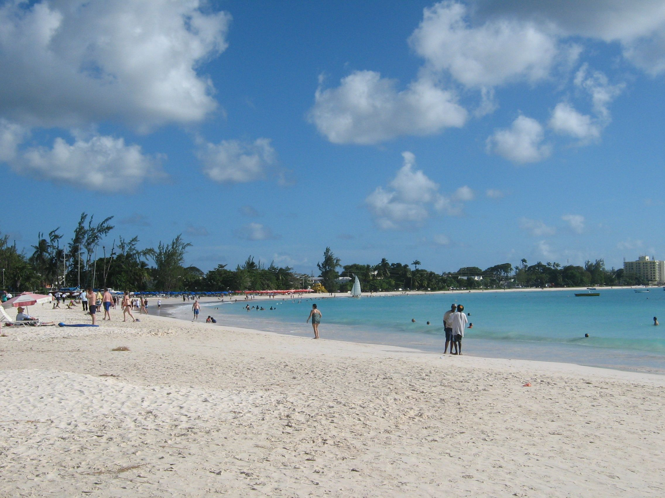 Carlisle Bay Beach Bridgetown Barbados