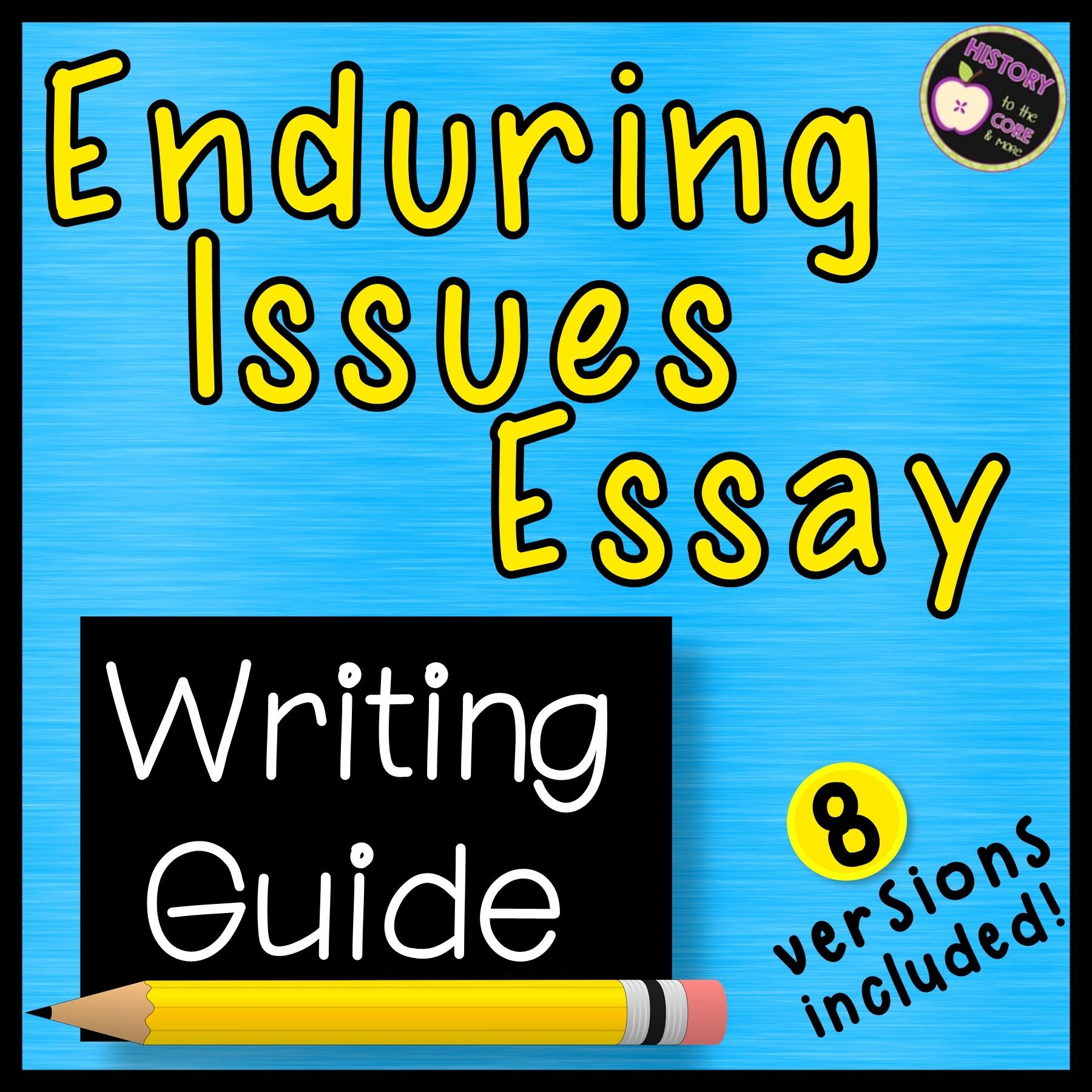 Enduring Issue Essay Organizer Outline Writing Help Academic Global
