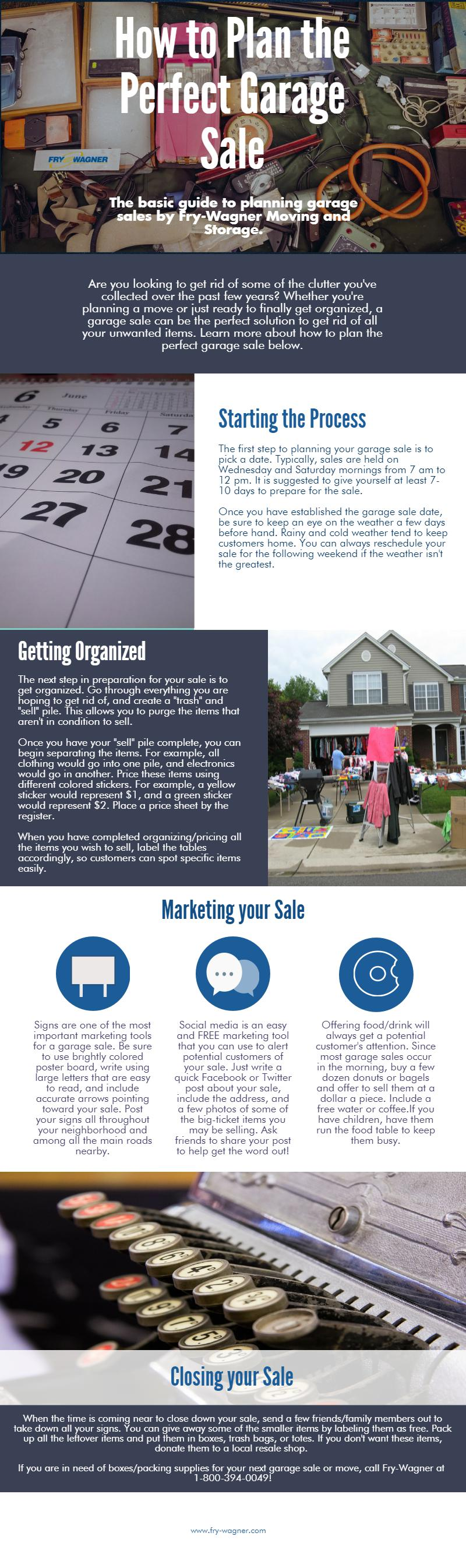 Planning A Garage Sale Can Be A Daunting Task Especially If You Don T Sell As Much As You Wanted To Follow This Sim Garage Sales Household Moving How To Plan