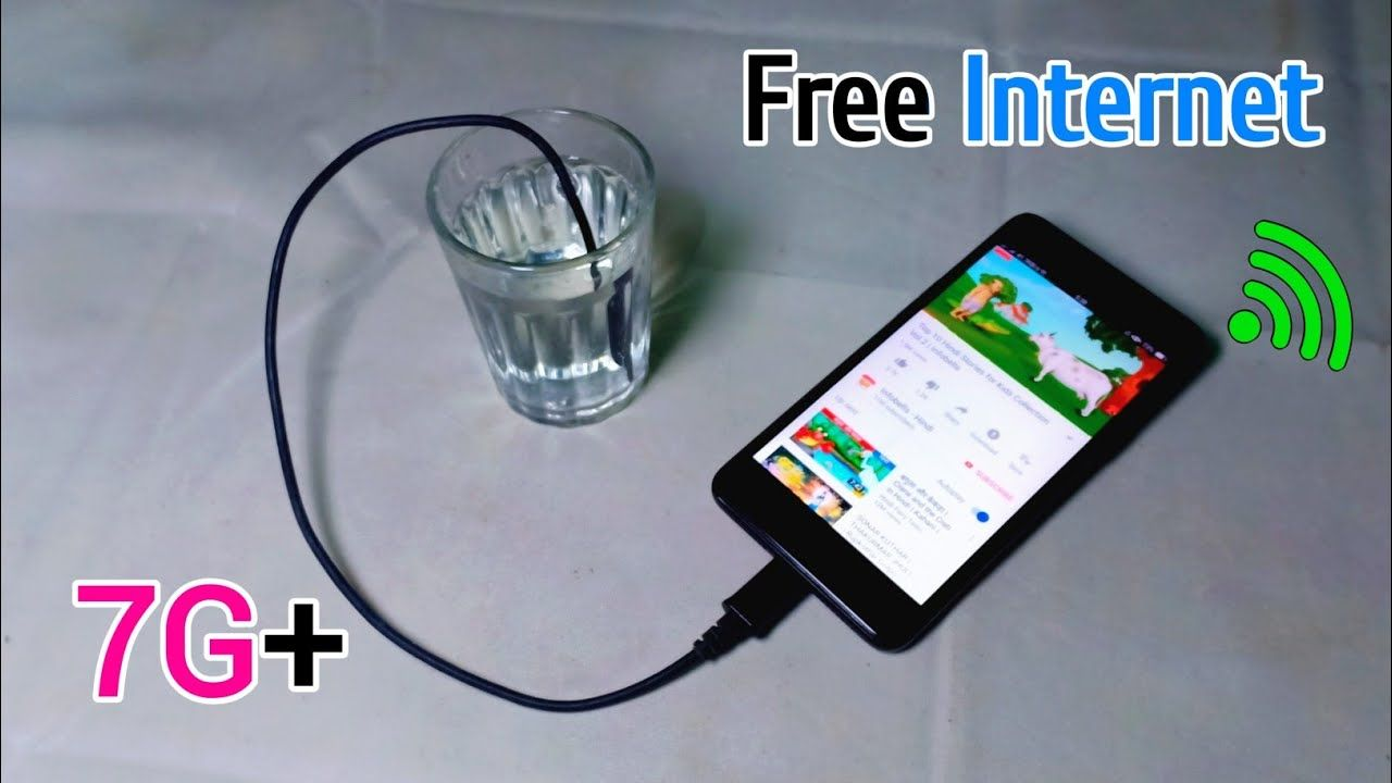 New Free Unlimited Internet 100 With 7g Amazing Speed Best Ide Wifi Gadgets Internet Phone Free Energy Generator