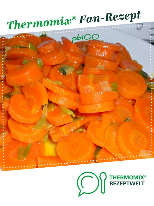 Karottengemüse mit Frühlingszwiebeln Receta Küchenmaschine