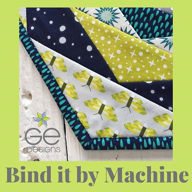 GE Quilt Designs Bind It By Machine YouTube Tutorial Takes