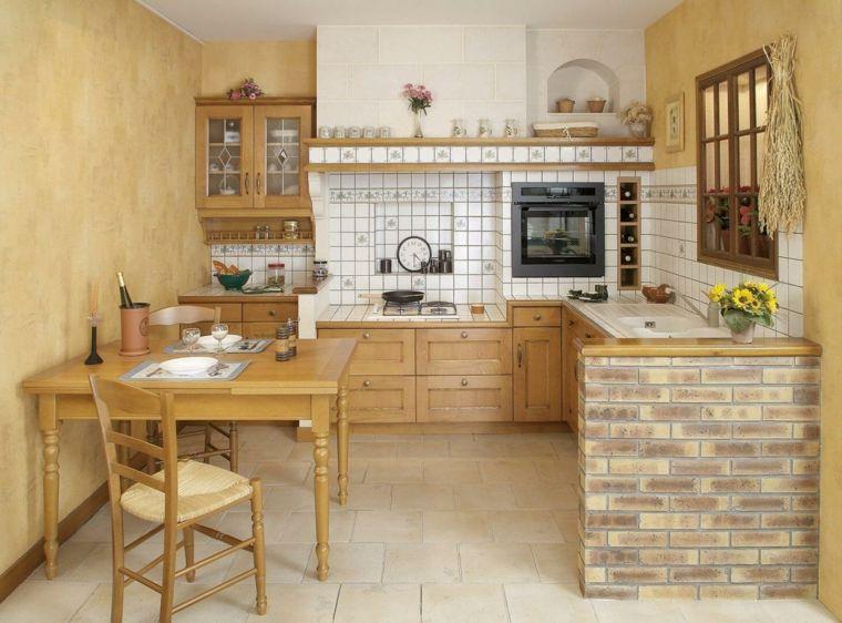 idee-arredare-piccole-cucine-in-muratura-stile-rustico-paraschizzi ...