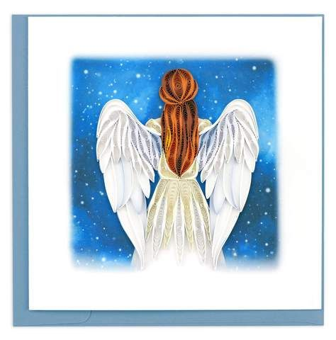 Quilled Angel Greeting Card in 2020 (With images ...