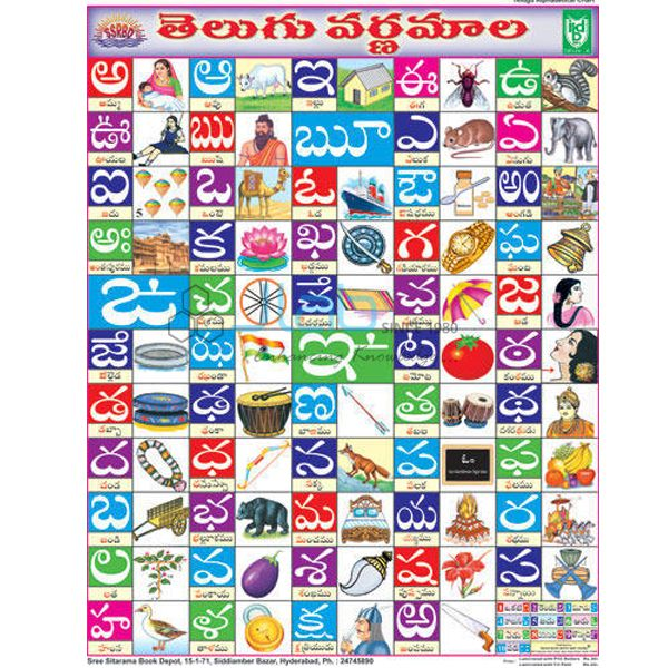 Jlab Export is one of the leading Telugu alphabet chart