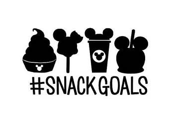 88a6713db Snack Goals .svg file for Cricut and Silhouette (Disney) | Disney ...