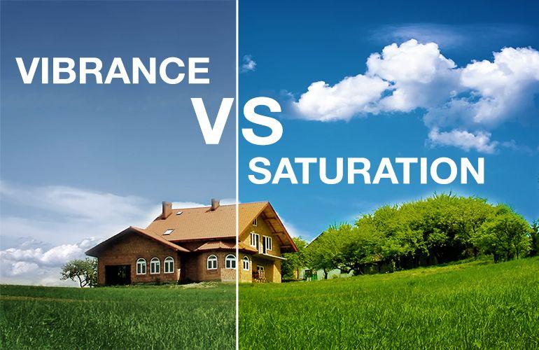 Lightroom vibrance vs saturation