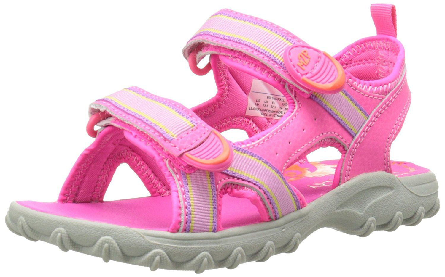 Stride Rite Made 2 Play  Snorkel Sandal (Toddler/Little Kid/Big Kid) ^^ Tried it! Love it! Click the image. : Girls sandals