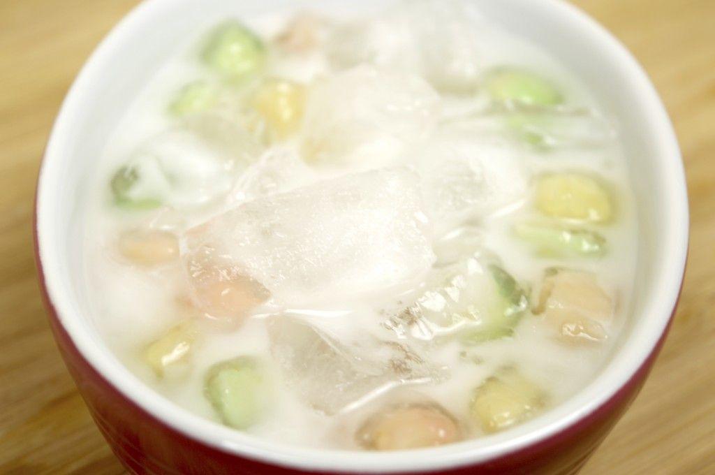 How to make crunchy gems in coconut milk recipe tub tim grob food forumfinder Choice Image