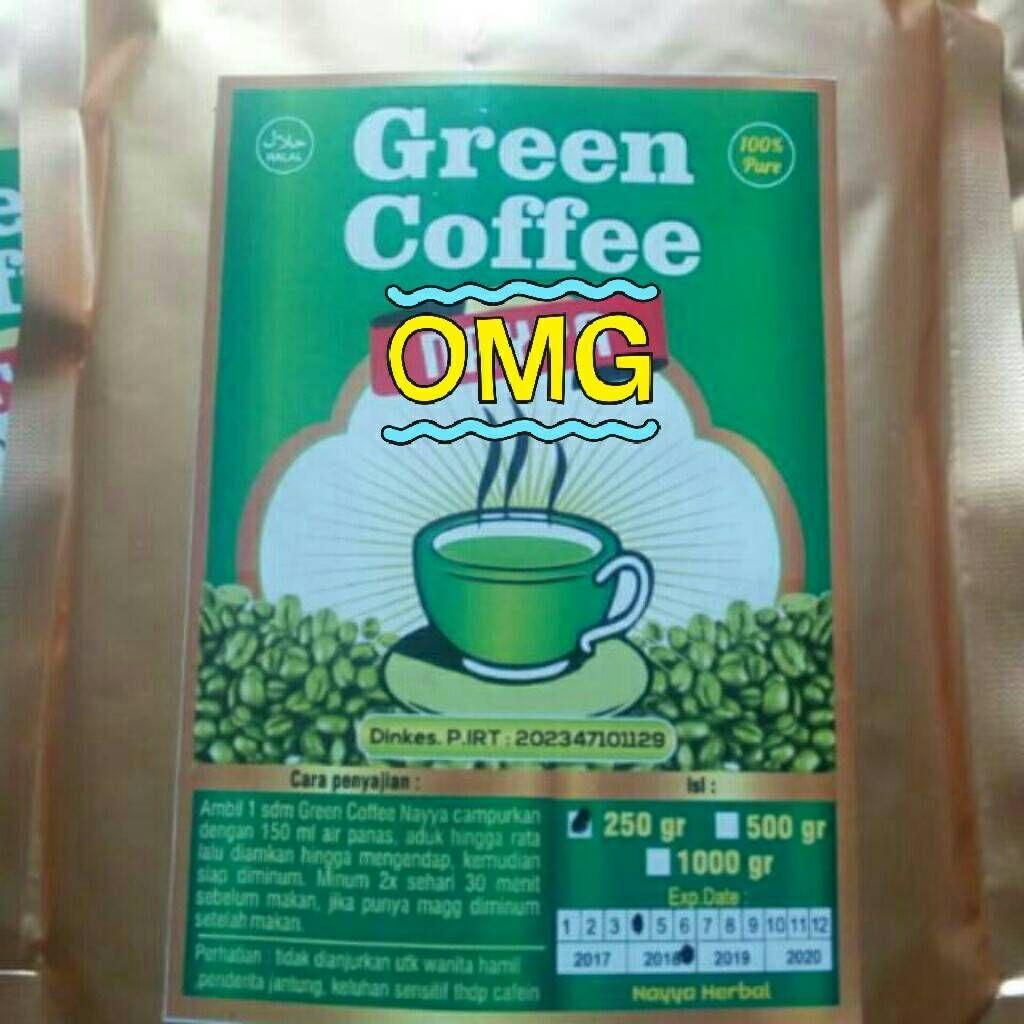 Selamat menunaikan Ibadah puasa, minum green coffee