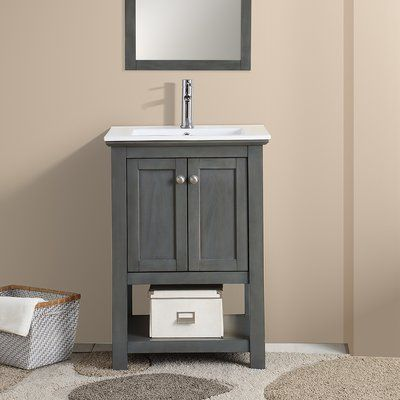 "Fresca Cambria Manchester 24"" Single Bathroom Vanity Set 